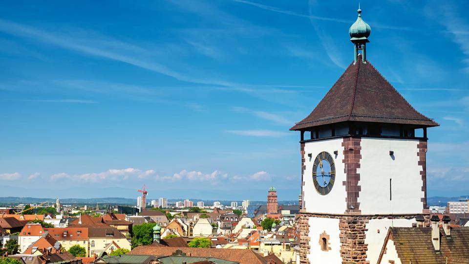 Luftaufnahme Freiburg