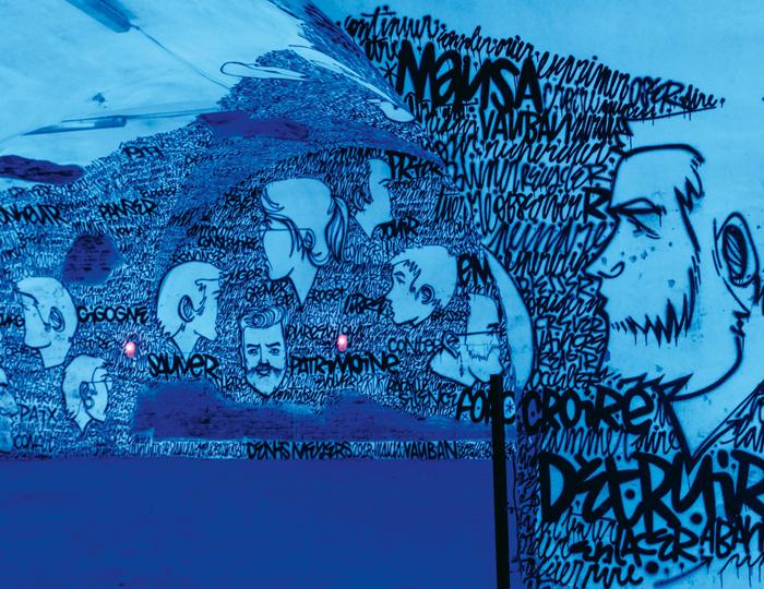 Der Blue Room der MAUSA