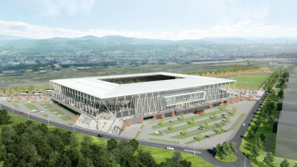 Stadion Visualisierung