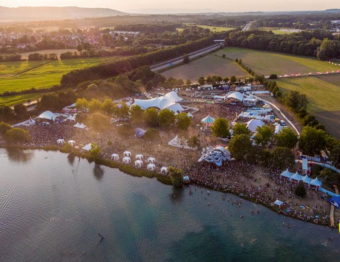 Sea You Festival Luftaufnahme