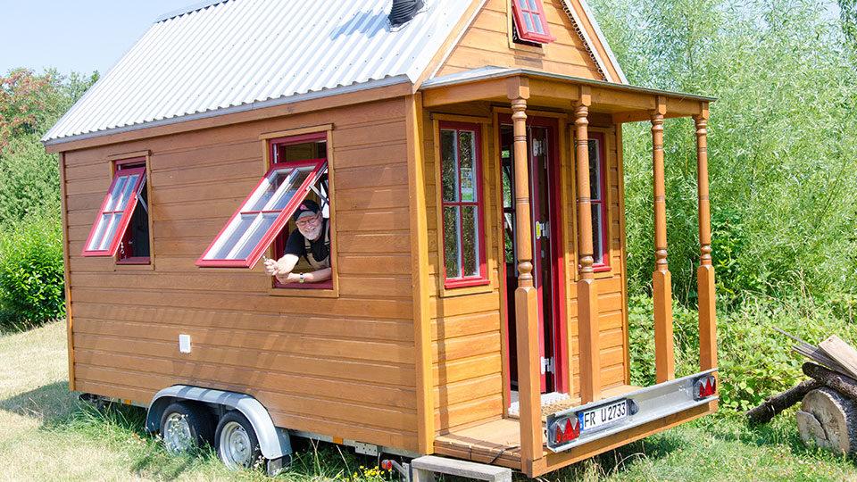 Tufteln Am Tiny House Wie Zwei Sudbadener Ihr Traumhauschen Bauen